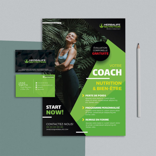 Flyer Coach Herbalife Nutrition 03 - by WePrint