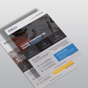 Flyer BTP by WePrint
