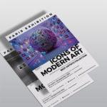 Flyer Exposition gallerie WePrint