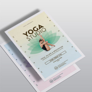 Flyer Yoga by WePrint