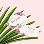 Carte de visite Fleuriste by WePrint
