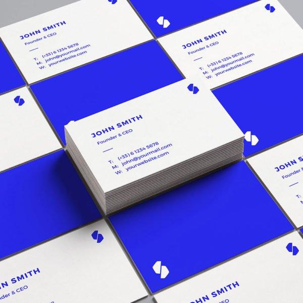 Carte de visite Simplicity two by WePrint (1)