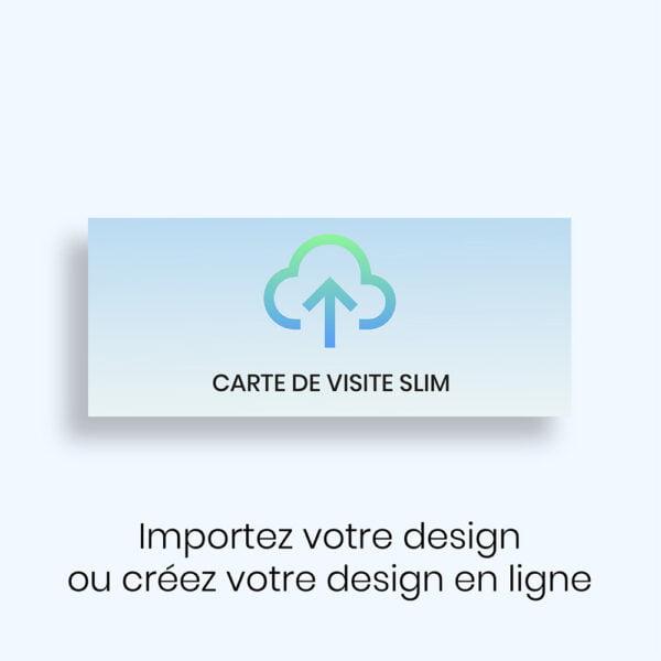 Créez votre carte de visite Slim