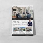 Flyer Agent Immobilier WePrint