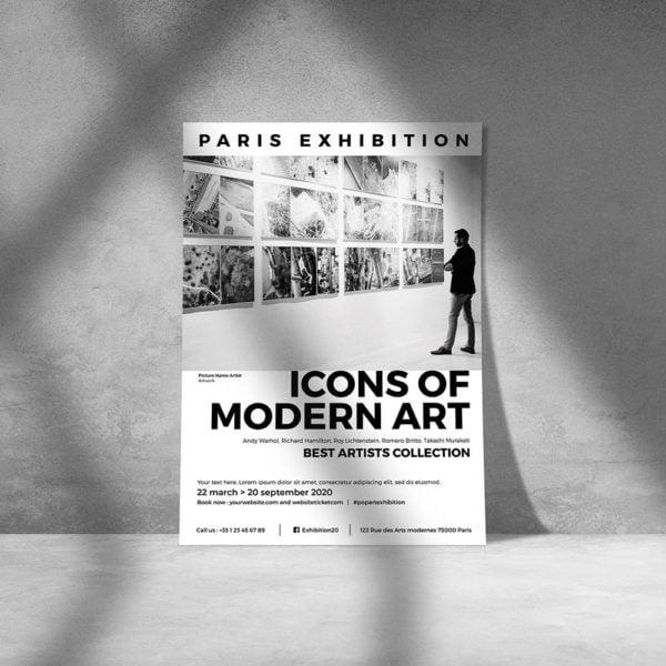 Flyer Exposition d'art by WePrint (3)