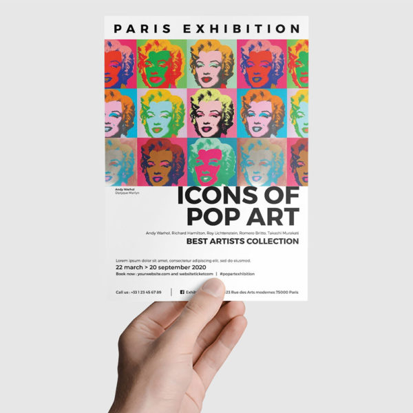 Flyer Exposition d'art by WePrint (4)