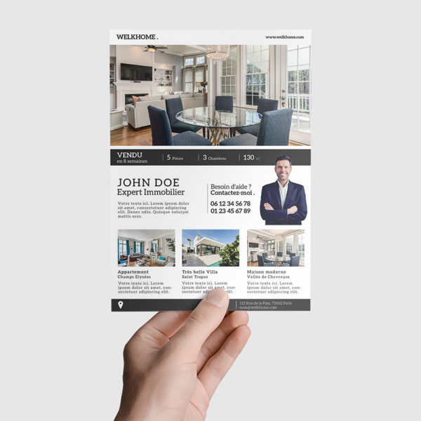 Flyer Immobilier by WePrint