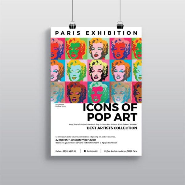 Affiche Gallerie Exposition WePrint