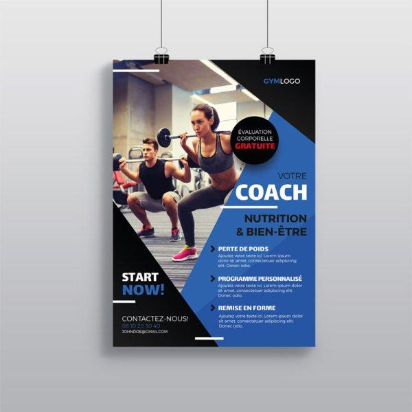 Affiche Salle de sport WePrint