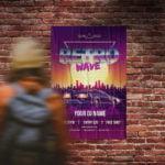 Affiche publicitaire concert WePrint