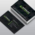 Carte-de visite Herbalife Nutrition Black
