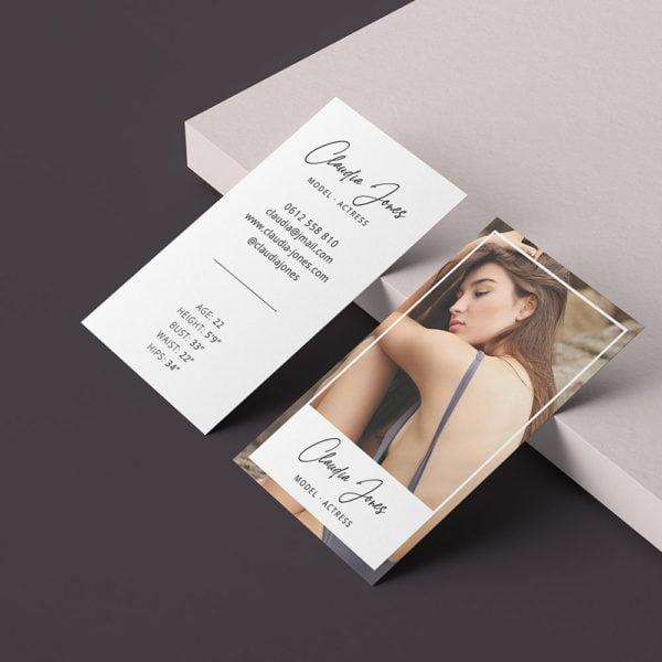 Carte de visite Mode et Mannequin by WePrint (7)