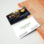 Carte de visite Organic food by WePrint