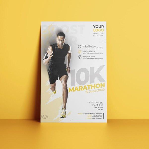 Flyer Club de Marathon et Running by WePrint