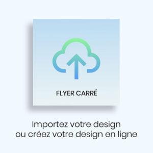 Créez votre Flyer Carré WePrint